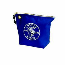 5539Blu Canvas Zipper Pouch, 10-Inch Tool Bag Storage Organi