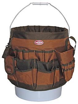 Bucket Boss 56 Bucket Tool Organizer in Brown, 10056
