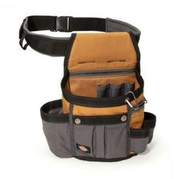 Dickies Work Gear 57000 Grey Tan 8 Pocket Utility Pouch Dura