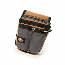 Dickies Work Gear 57005 Grey/Tan Tool Pouch with Security Zi