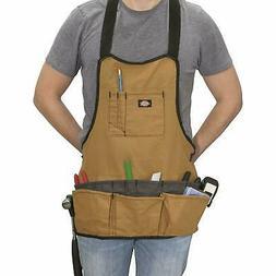 Dickies Work Gear 57027 Grey/Tan 16-Pocket Bib Apron