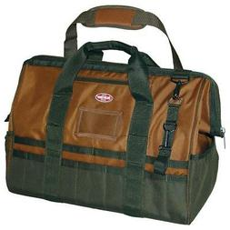 Bucket Boss Gatemouth 20 Tool Bag in Brown, 60020