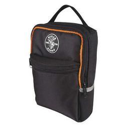 """KLEIN TOOLS 69408 Tool Bag,2 Pockets,7x2-1/2x10-1/4"""",Black"""