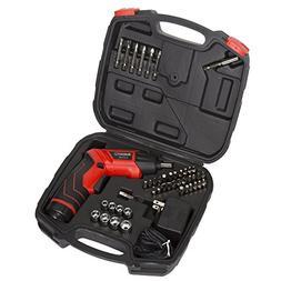 Pivoting Screwdriver 45 Pc. Set-Pivoting Cordless Power Tool