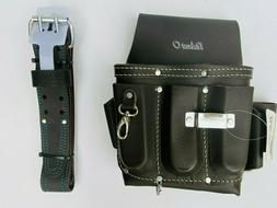 8 pkt Electrician Tool Bag Pouch + Waist Tool Belt - BOTH Oi