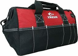"Husky 82003N11 18"" Water-Resistant Contractor/DIY Tool Bag w"