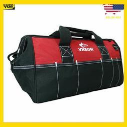"Husky 82003N11 18"" Water-Resistant Contractor/DIY Tool Bag w"