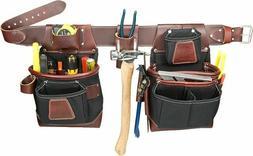 Occidental Leather 8580LG Leather Fatlip Large Tool Belt wit