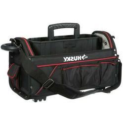 """Husky 88582N13 20"""" Pro Electrician Heavy Duty Tool Bag Stora"""
