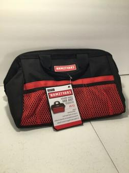 """Craftsman 9-37535 13""""Tool Bag Large Mouth Reinforced Materia"""