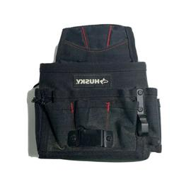 Husky 9 Compartment Hand Tool Bag Storage Organizer Pouch Be