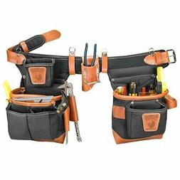 Occidental Leather 9850 Adjust-to-Fit Fat Lip Tool Bag Set -