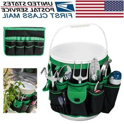 BUCKET TOOL ORGANIZER GARDENING TOOLS HOLDER 5 GALLON TOTE B
