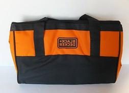Black & Decker Tool Bag Storage Bag Contractor Bag 17X13X10