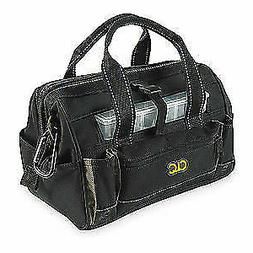 "CLC Polyester Tool Bag,16 Pockets,12""x8""x9"",Black, 1533, Bla"