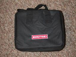 "Craftsman 12 x 9 x 7"" Large Black Nylon Tool Bag Zipper top"