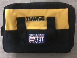 """DEWALT 13"""" 6 Pocket Heavy Duty Nylon Canvas Contractor Tool"""