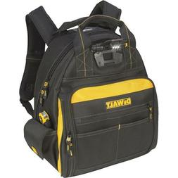 DeWalt 57-Pocket 16 In. LED Lighted Heavy Duty Backpack Dura
