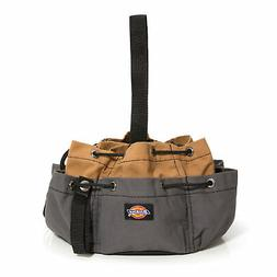 Dickies Gray Tan 12 Pocket Drawstring Tool Organizer Bag 570