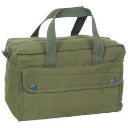 Fox Outdoor Mechanic's Tool Bag w/ Brass Zipper, Olive Drab
