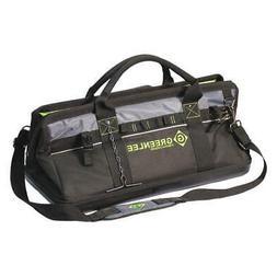 "Greenlee 0158-21 Heavy-Duty 20/"" Multi-Pocket Tool Bag"