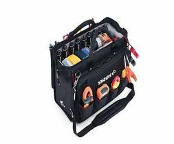 Husky 18 Inch Heavy Duty Nylon Tool Bag Electrician Tech Too