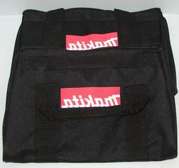 "Makita 11"" Small Black Contractor Tool Bag 2 Pack."