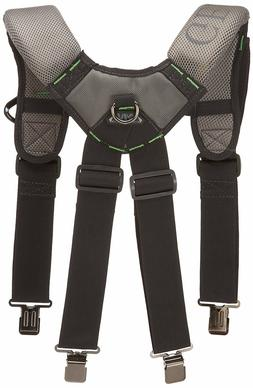 McGuire Nicholas Gel Foam Padded Suspender Work Tool Belt BL