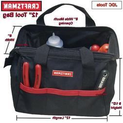 "NEW Craftsman 12"" inch Tool Bag Storage Pouch Organizer Carr"