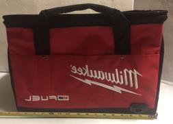 """NEW MILWAUKEE 16"""" X 12"""" X 10"""" Large Tool Bag Tote Case With"""
