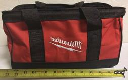 "NEW MILWAUKEE M12 13"" x 7"" x 6"" Medium Contractors Tool Bag"