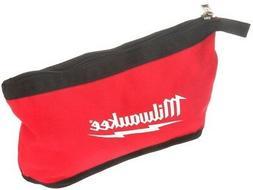 NEW Milwaukee Zipper Pouch Tool Bag Storage Heavy Duty Water