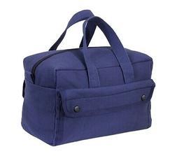 Navy Blue Canvas Tool Bag - Rothco G.I. Type Mechanics Tool