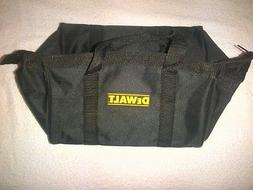 "New Dewalt Heavy Duty Black Ballistic Nylon Tool Bag 11"" for"