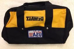 "New Dewalt N037466 Heavy Duty Ballistic Nylon Tool Bag 13"" w"