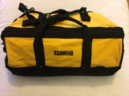"New Dewalt Tool Bag Heavy Duty Ballistic Nylon 24"" x 12"" x 1"