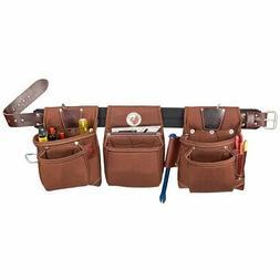 Occidental Leather 8385 Black Belt Stronghold Rough Framer T