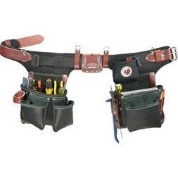 Occidental Leather B9588 Green Builder Tool Belt and Bag Set