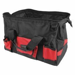 "PERFORMANCE TOOL W88987 Jumbo Tool Bag, 17"", Heavy Duty Nylo"