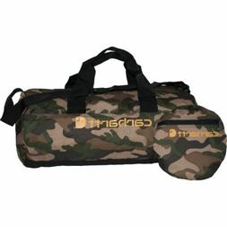 """Packable Carry On Luggage CARHARTT 19"""" CAMO Duffle Bag Camou"""