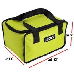 Ryobi 903209066 Green Tool Bag 7 x 9 x 12 inch Fits CSB143LZ