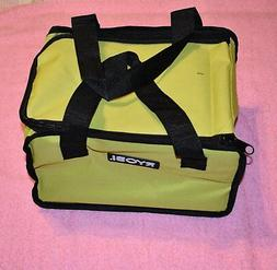 "Ryobi One+ 18v Lithium Green Tool Bag 12""x10""x7""   NEW!"
