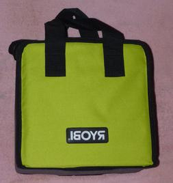 "Ryobi One+ 18v Lithium Green Tool Bag 7"" WITH DIVIDER!  NEW!"