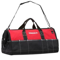 Tool Bag 24in. Shoulder Strap Dual Zipper Top 26-Storage Poc