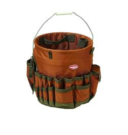 Tool Bucket Organizer 30 Pockets Storage Bags Pouches Belts