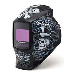 Auto Darkening Welding Helmet, Black, Digital Elite, 8 to 13
