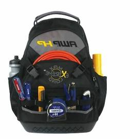 AWP HP 17 inch Zippered Backpack Tool Bag Pouch for electric