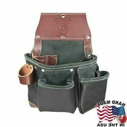 Occidental Leather B5612LH Green Building Tool Bag in Black