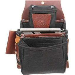 Occidental Leather B8060 OxyLights 3 Pouch Fastener Bag - Bl
