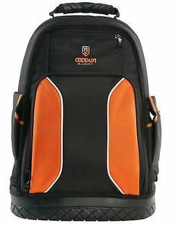 Rugged Tools Pro Tool Backpack - 40 Pocket Heavy Duty Jobsit